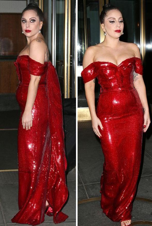 Gaga dynamic red