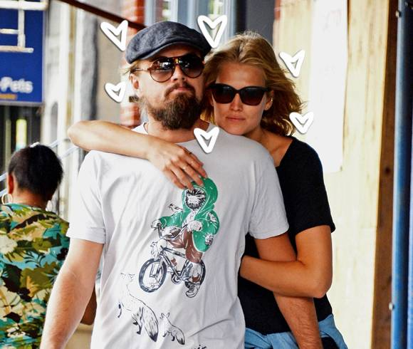 Leonardo entrances deprived of Toni Garrn