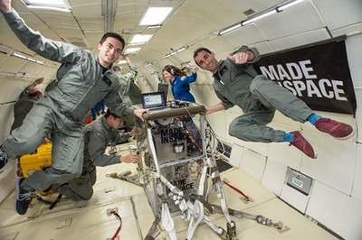 Space's Zero Gravity 3D Printer
