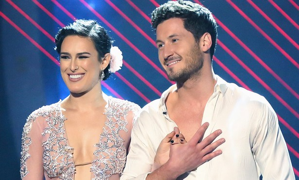 Dazzling dancing stars Rumer Willis and Val Chmerkovskiy feelings