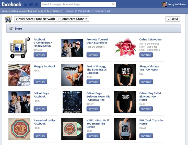 Benefits of Facebook for Small Businesses Virtual Store