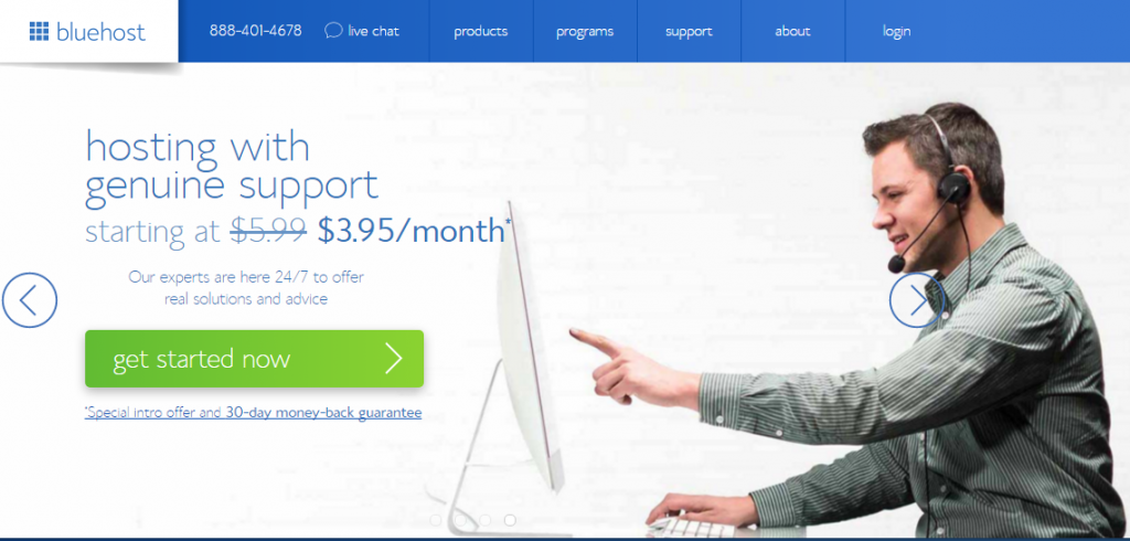 Best web hosting Companies For Small Businesses Bluehost