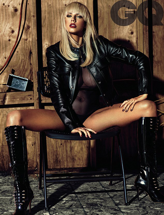 Charlotte McKinney Shows Off Body in Shoot for British GQ