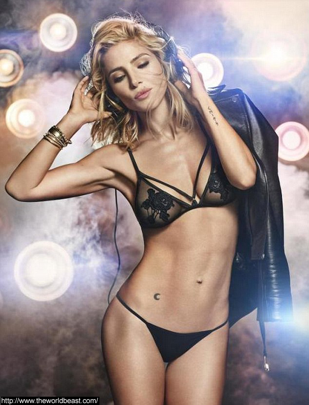 Elsa Pataky Displays her Figure in Lingerie Campaign pic 1