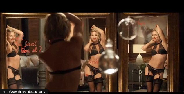 Elsa Pataky Displays her Figure in Lingerie Campaign pic 2