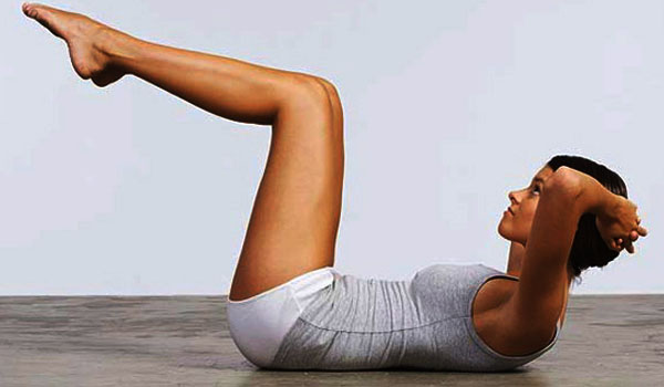 Exercises to Release Gas From Stomach Crunches