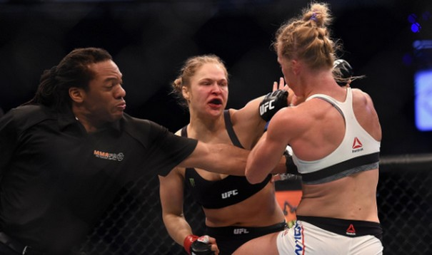 Holly Holm's knockout Ronda Rousey in the biggest UFC upset 1