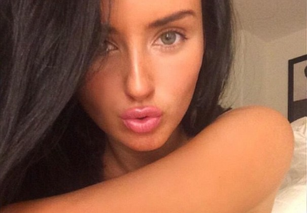 Racy poses of Abigail Ratchford reminds the Kim's 'break the internet' shoot 1