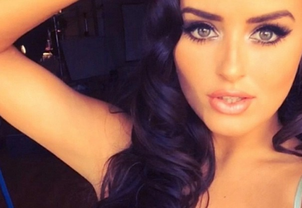 Racy poses of Abigail Ratchford reminds the Kim's 'break the internet' shoot