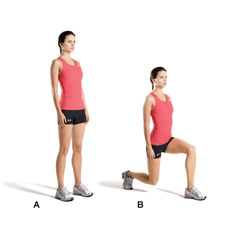 Simple Exercises For a Quick Weight Loss Lunges