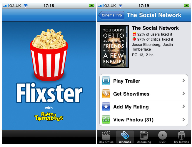 Top 10 Android Apps For Entertainment Flixster