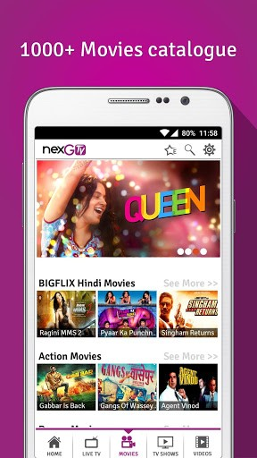 Top 10 Android Apps For Entertainment NexGtv-Live TV