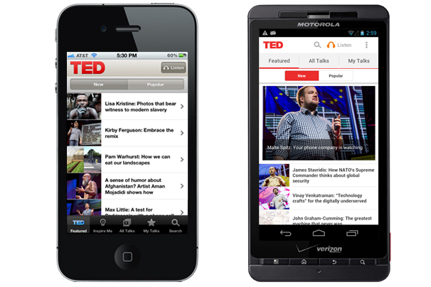 Top 10 Android Apps For Entertainment TED