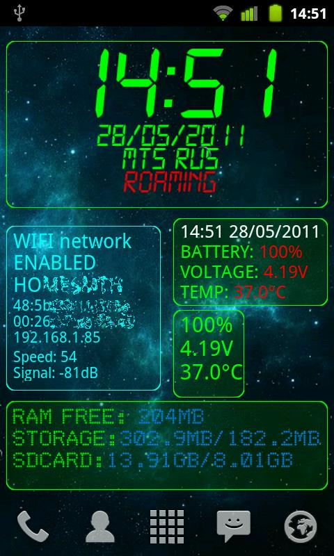 Top 10 Free Android Widgets Android System Info