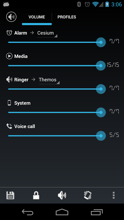 Top 10 Free Android Widgets Audio Manager