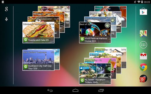 Top 10 Free Android Widgets Groupon