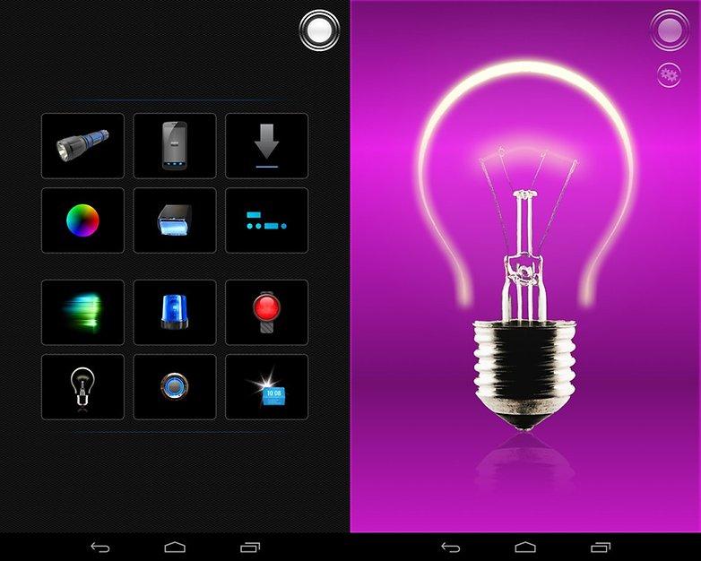 Top 10 Free Android Widgets Tiny Flashlight