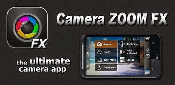 Top Paid Android Apps Camera ZOOM FX
