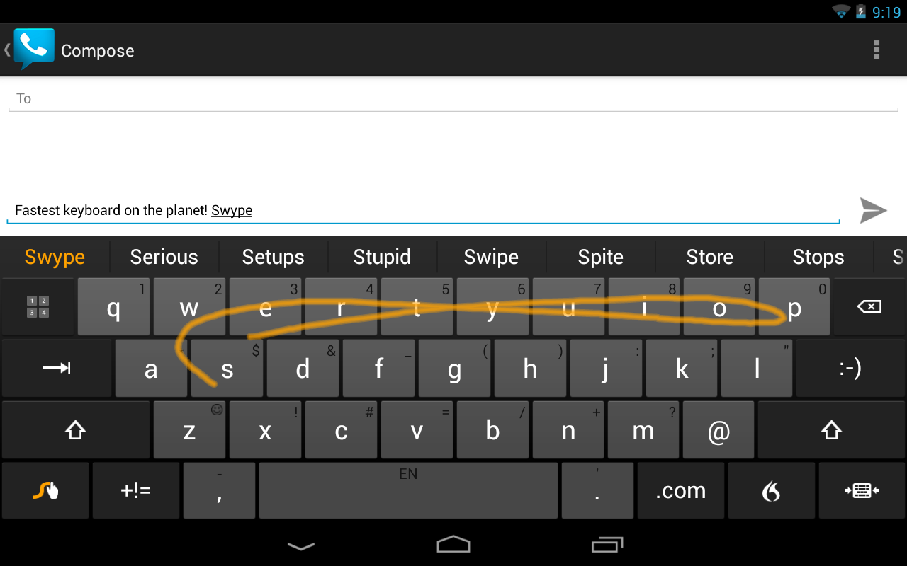 Top Paid Android Apps swype keyboard