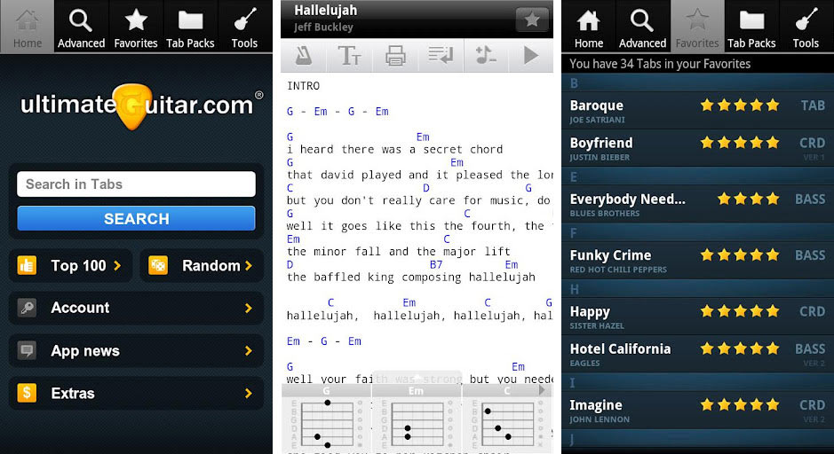 Top Paid iPhone Apps of All Time Ultimate Guitar Tabs