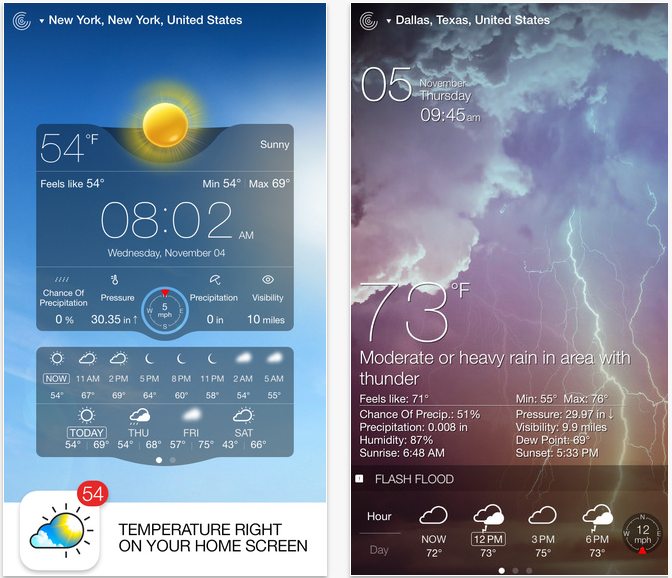 Top Paid iPhone Apps of All Time Weather Live