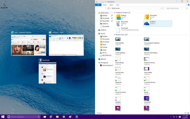 Windows 10 Features And Reviews SNAP Assist
