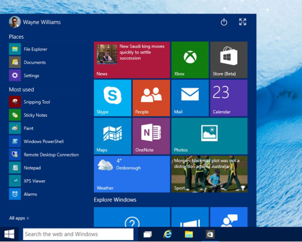Windows 10 Features And Reviews Start Menu
