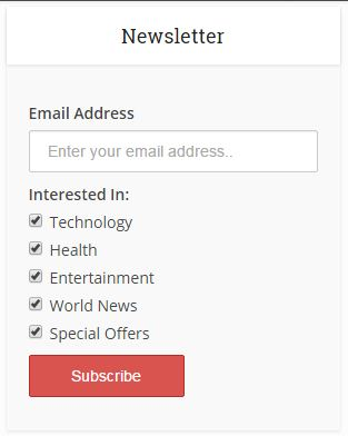 8 Email Marketing Tips and Tricks For Newbies subscribe form