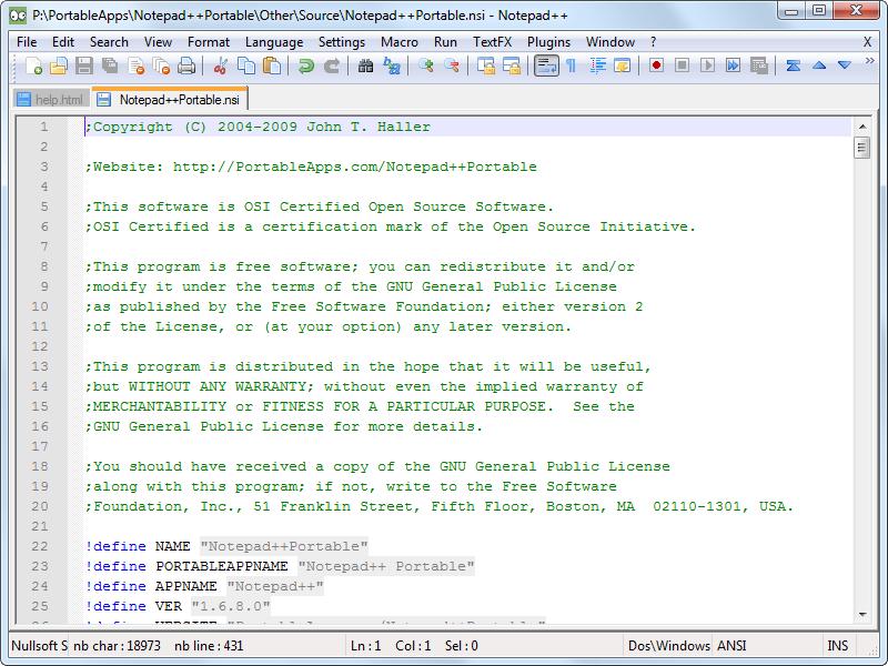 Best Code Editors for Windows notepad plus plus