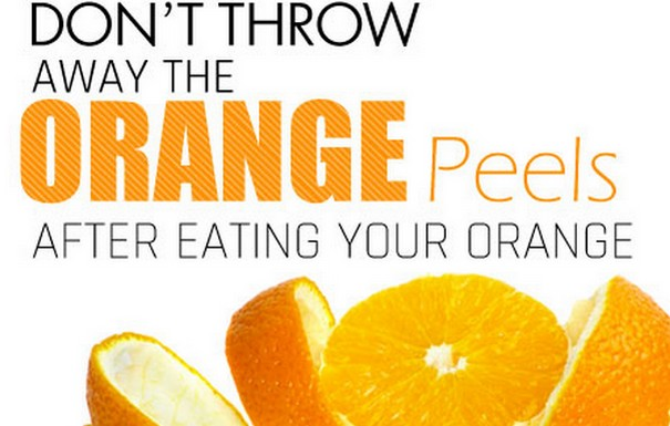 Don't Throw Away Those Orange Peels