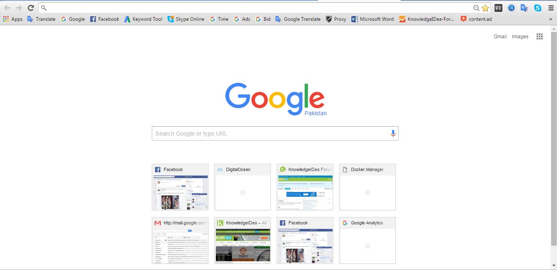 Google Chrome Browser vs Firefox