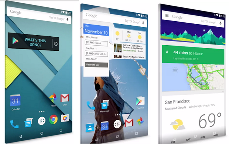 Review of Android Lollipop Features Material Design