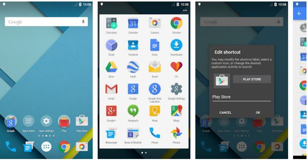 The Best Android Launchers Of all Time Apex Launcher