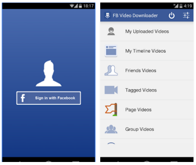 Top 10 Apps for Facebook Fan Pages video downloader