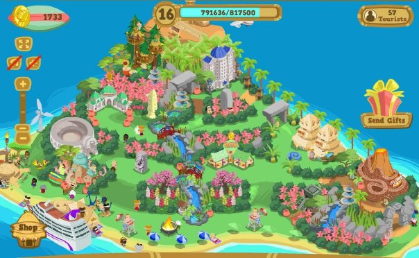 Top 10 Facebook Games of All Times Happy Island