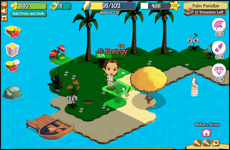 Top 10 Facebook Games of All Times Treasure Isle