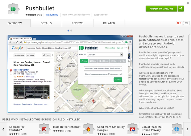 Top 10 Google Chrome Extensions Pushbullet