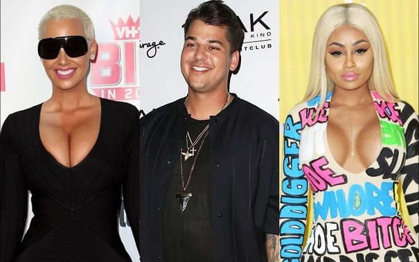 Amber Rose wishing for a new comer in Rob-Chyna affair
