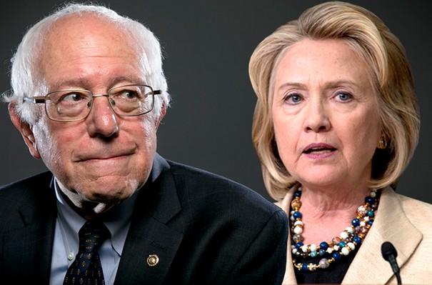 Clinton Sanders Clash