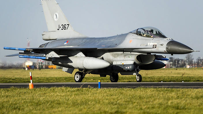 Dutch Jets to Bomb IS in Syria