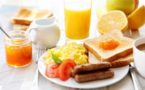 Eat healthy breakfast