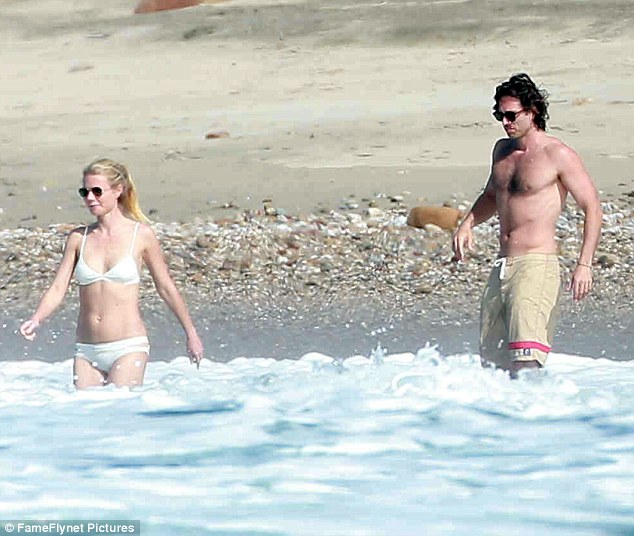 Gwyneth Paltrow Failed to Impress in Her White Bikini