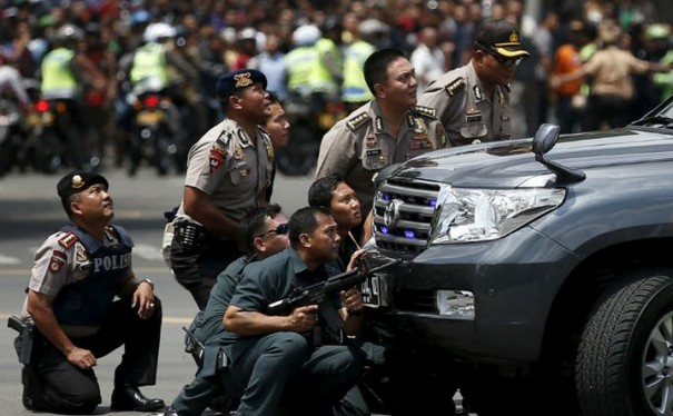 Indonesian Police Confirms ISIS behind Jakarta Attacks