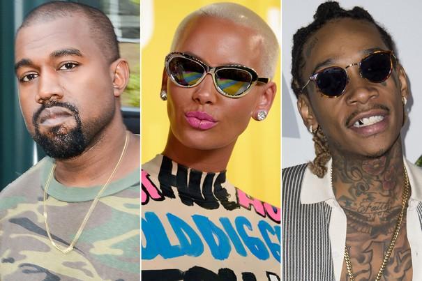 Kanye West Insults Amber Rose on Social Media