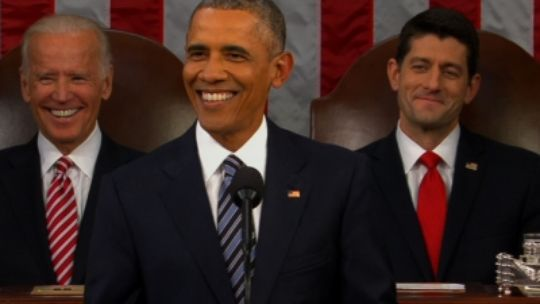Obama State of The Union address predicts dark Future
