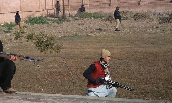 Terrorists attacks bacha khan university