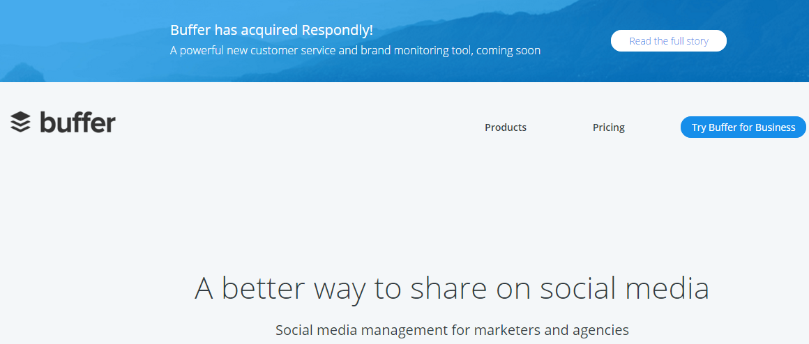 Powerful Social Media Tools for Small Business buffer
