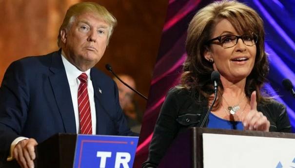 Sarah Palin endorsed Donald Trump