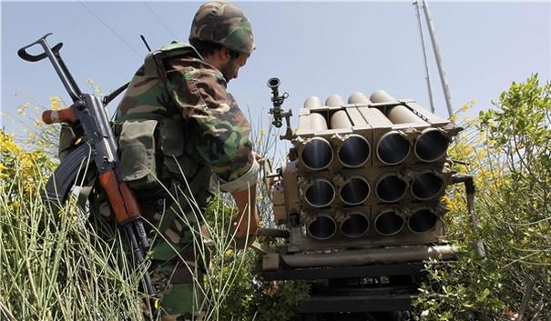 Syrian Army Strategic town in Aleppo