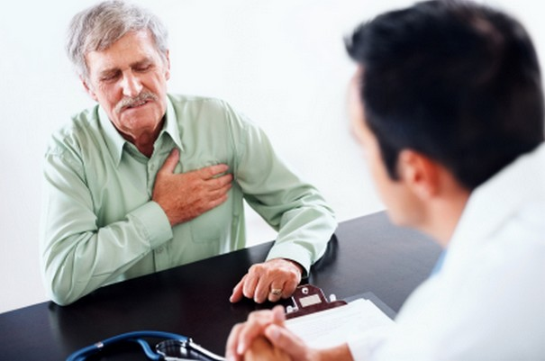 Signs and symptoms of angina